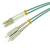 50/125 LC/UPC-SC/UPC duplex