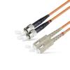50/125 ST/UPC-SC/UPC duplex