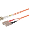 62,5/125 LC/UPC-SC/UPC duplex